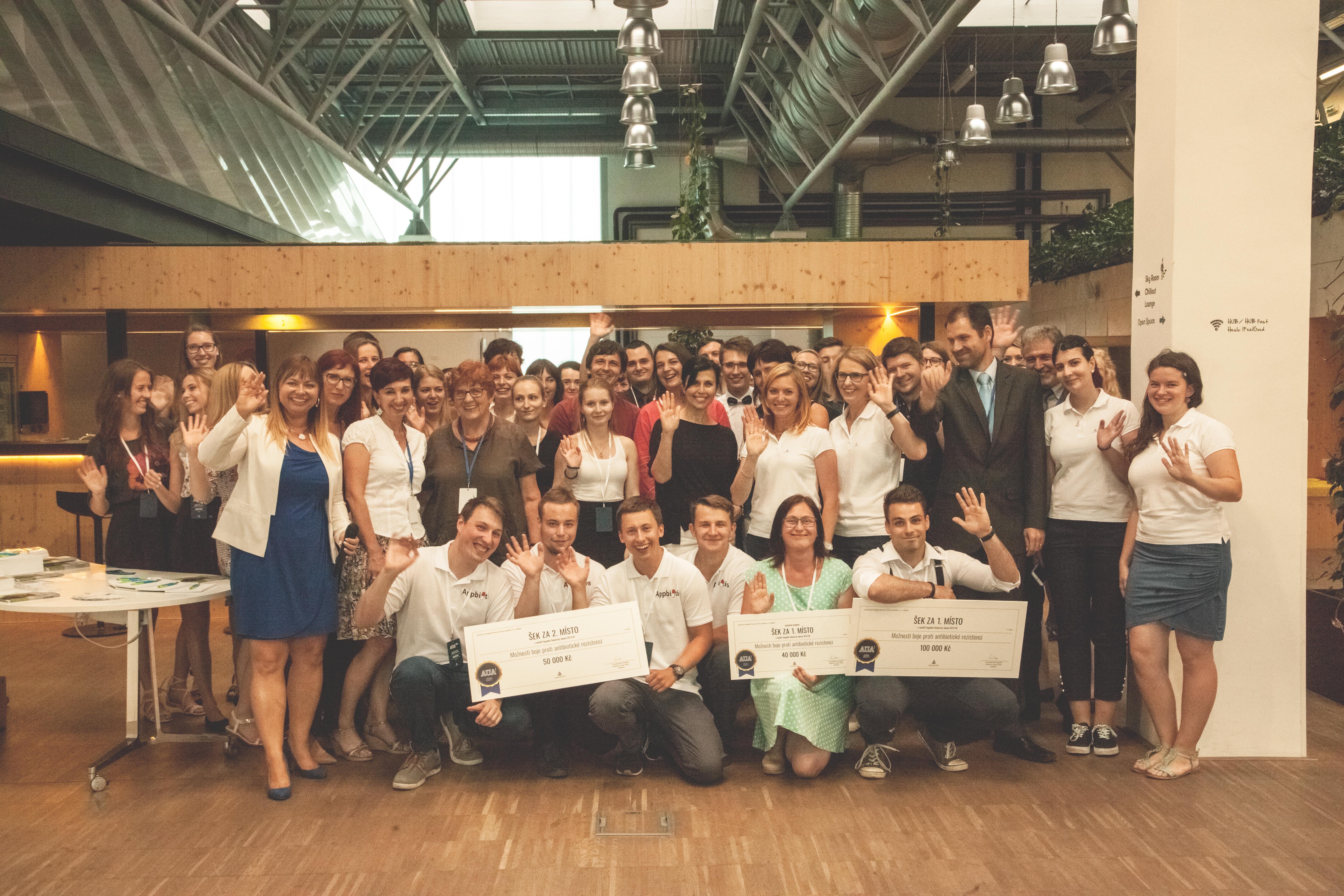 Gratulujeme vítězům prvního ročníku #AUA!